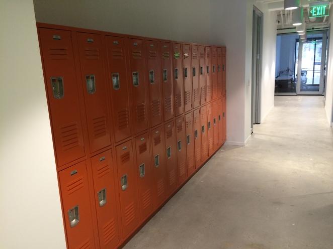 2nd floor lockers