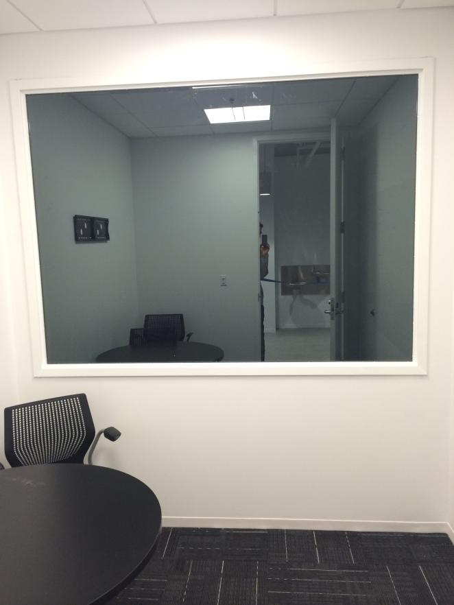 2nd floor observation room