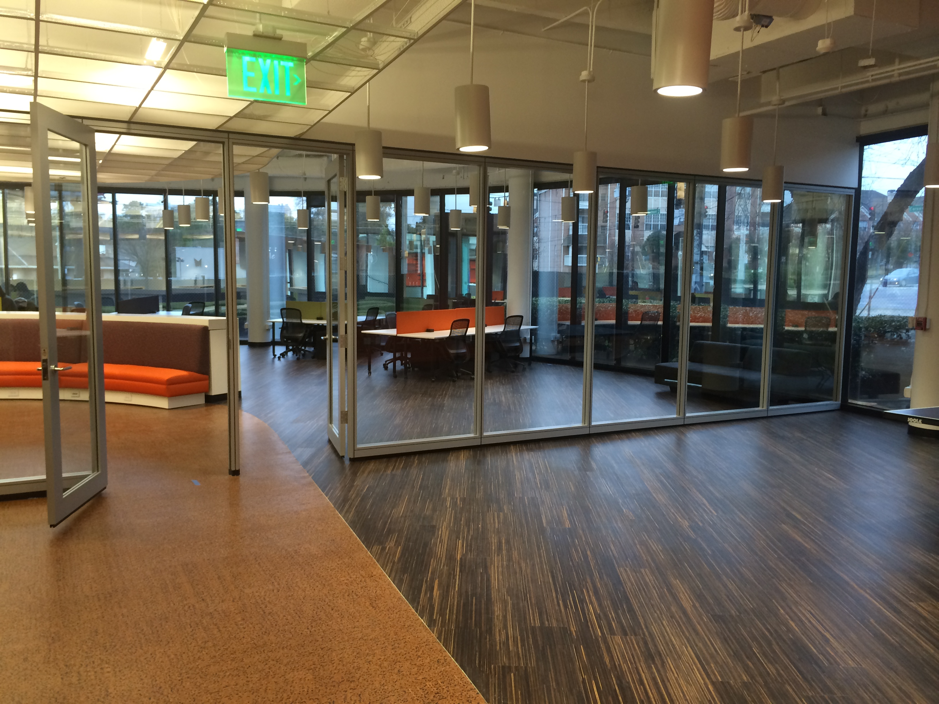 Walkthrough Of The 1st Floor At The Atlanta Tech Village